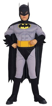 Toddler Batman Costume<br>Muscle Chest