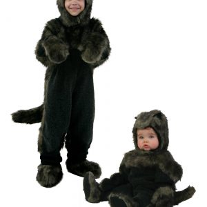 Toddler Black Dog Costume
