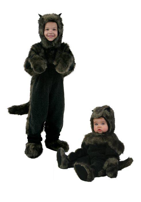 Toddler Black Dog Costume