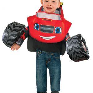 Toddler Blaze and the Monster Machines Costume