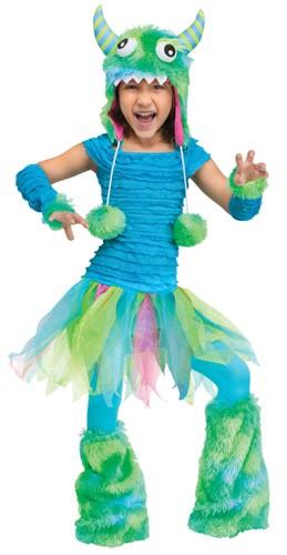 Toddler Blue Monster Costume