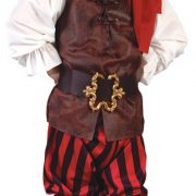 Toddler Boy High Seas Pirate Costume