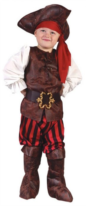 Toddler Boy High Seas Pirate Costume
