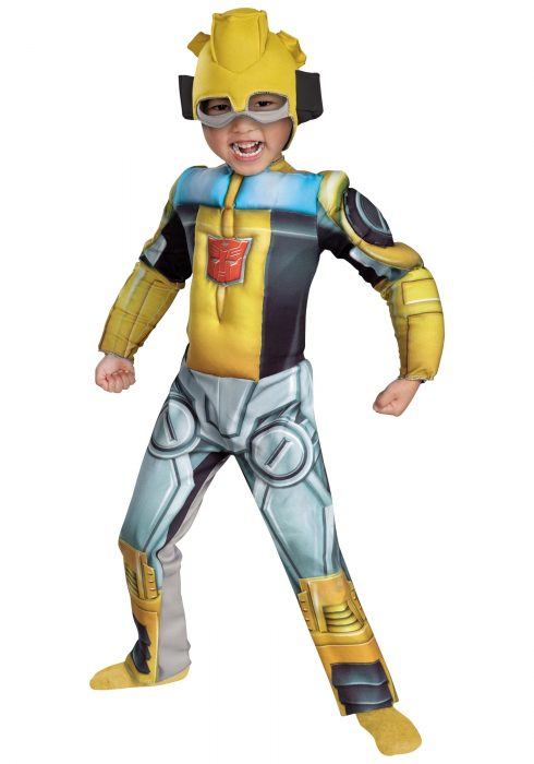 Toddler Bumblebee Rescue Bot Costume