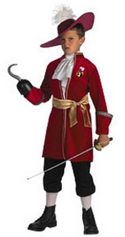 Toddler Captain Hook Costume