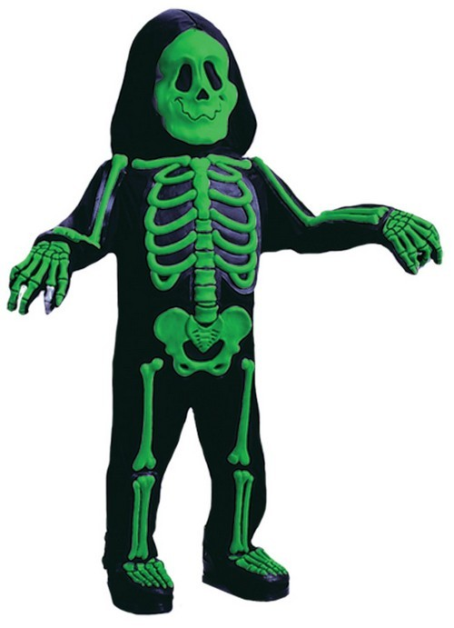 Toddler Color Bones Costume