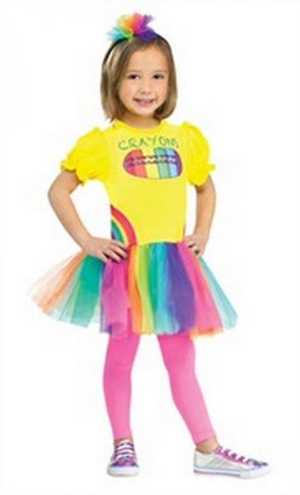 Toddler Color Me Cutie Costume