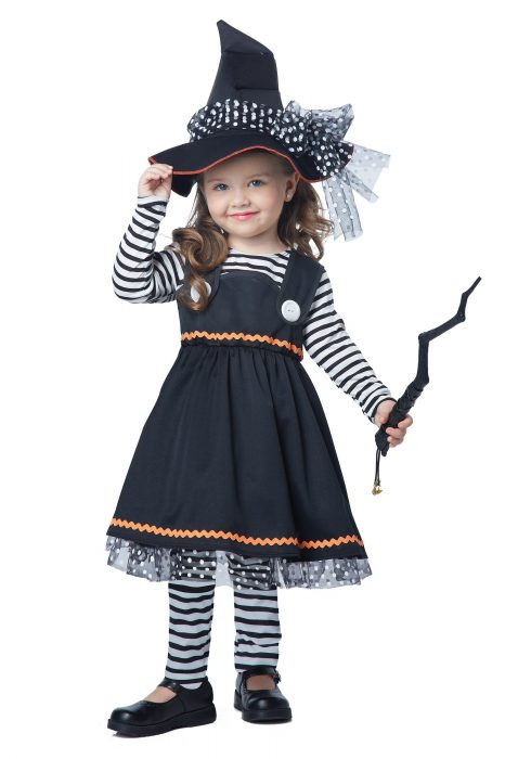 Toddler Crafty Little Witch Costume