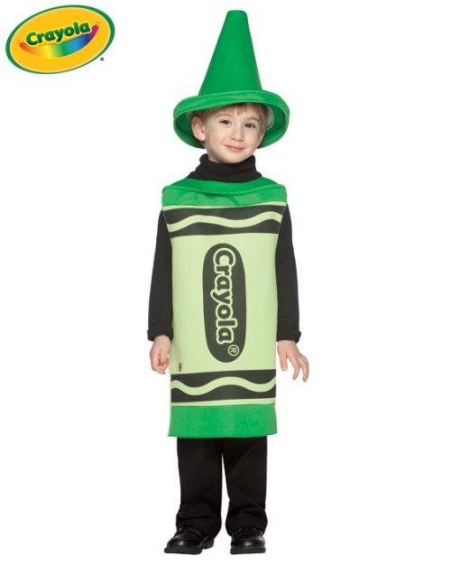 Toddler Crayola Crayon Costume - Green