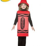 Toddler Crayola Crayon Costume - Red