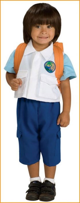 Toddler Deluxe Diego Costume