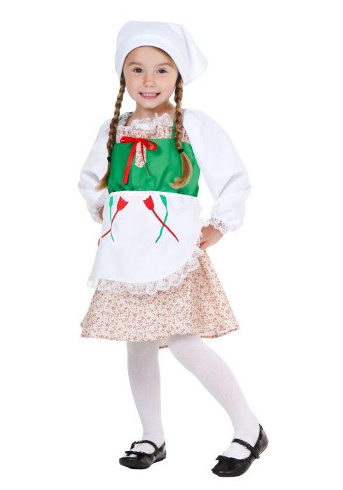 Toddler Deluxe German Girl Costume