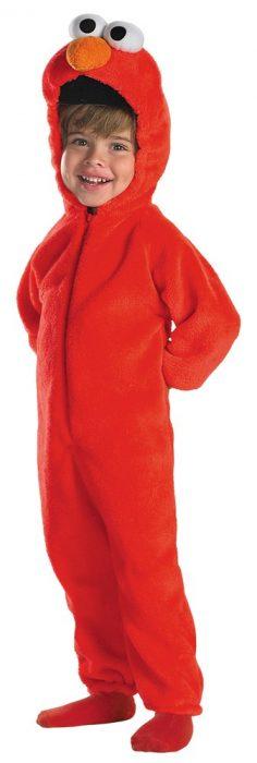 Toddler Deluxe Giggling Elmo Costume