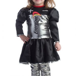 Toddler Energizer Battery Dress