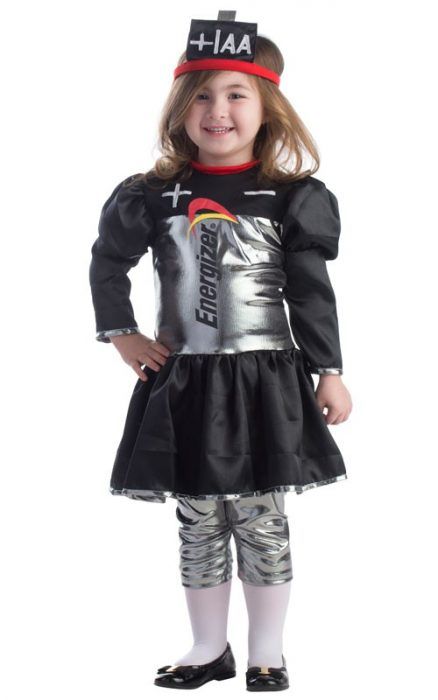 Toddler Energizer Battery Dress