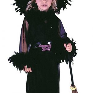 Toddler Feathery Witch Costume