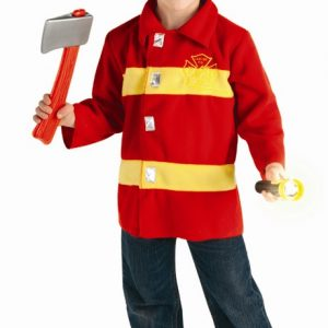 Toddler Firefighter Costume