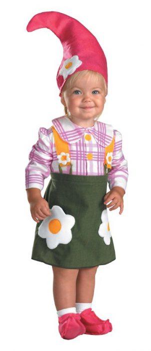 Toddler Flower Garden Gnome Costume
