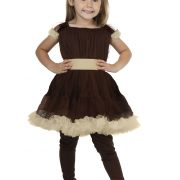 Toddler Girl's Bear Costume