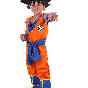 Toddler Goku Costume