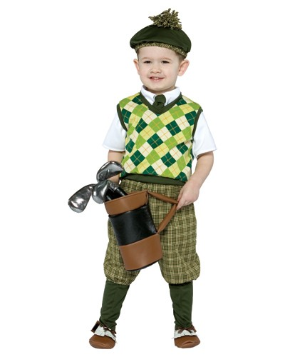 Toddler Golfer Costume