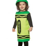 Toddler Green Crayon Costume