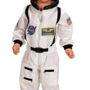 Toddler Jr. Astronaut Suit (White)