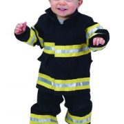 Toddler Jr. Fire Fighter Suit (Black)