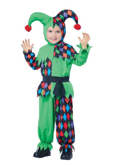 Toddler Junior Jester Costume