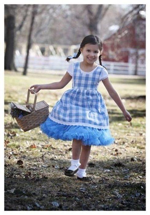 Toddler Kansas Girl Tutu Costume