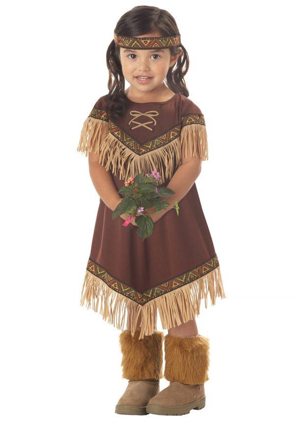 Toddler Li'l Indian Princess Costume