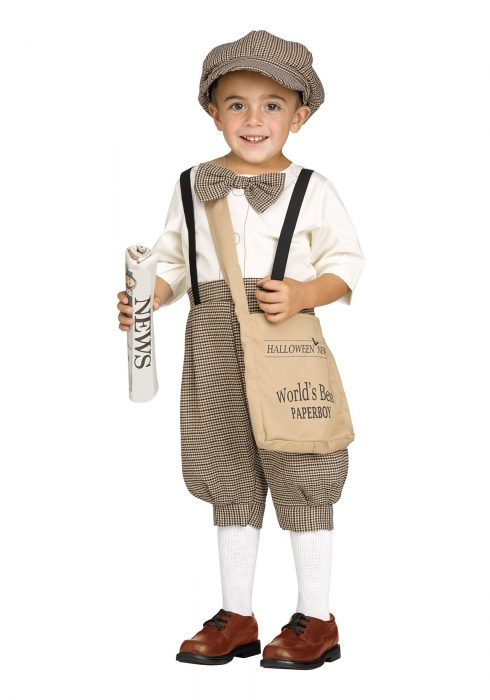 Toddler Lil' Newsie Costume