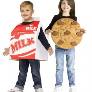 Toddler Milk and Cookie Costume