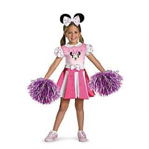 Toddler Minnie Mouse Cheerleader Costume