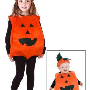 Toddler Orange Pumpkin Costume