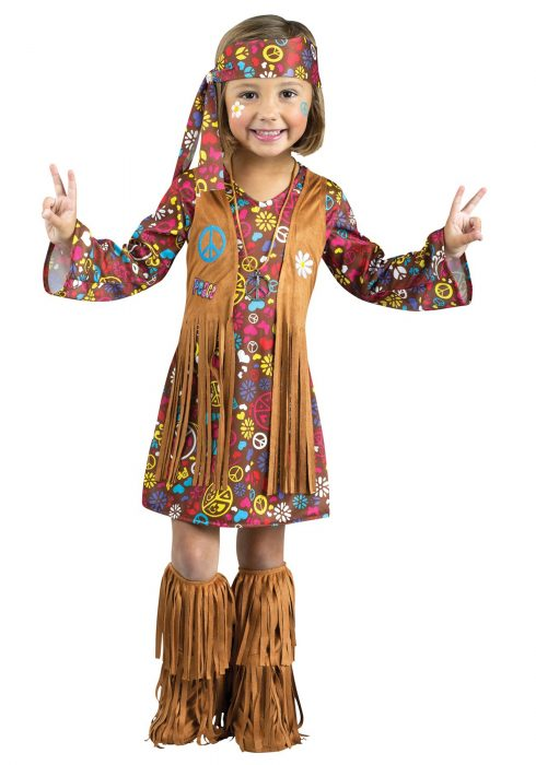 Toddler Peace & Love Hippie Costume