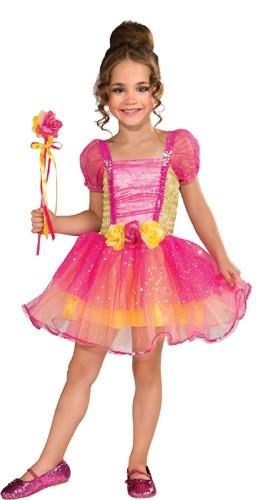 Toddler Pink Garden Princess Costume