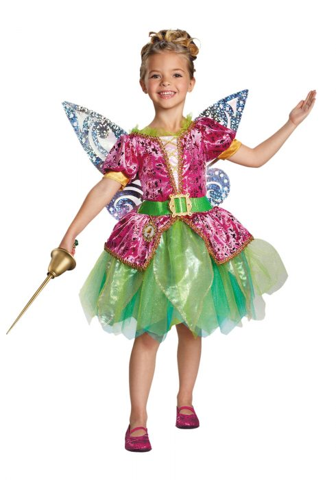 Toddler Pirate Fairy Tinker Bell Deluxe Costume