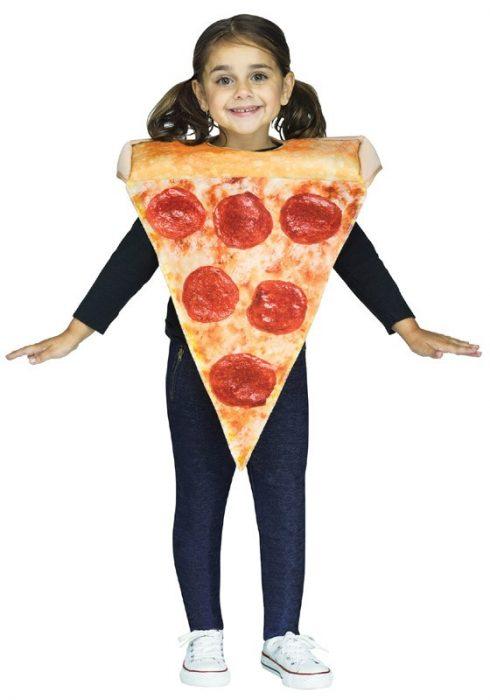 Toddler Pizza Slice Costume
