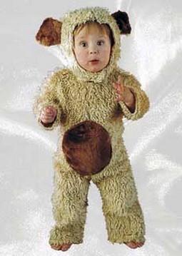 Toddler Plush Bear Costume