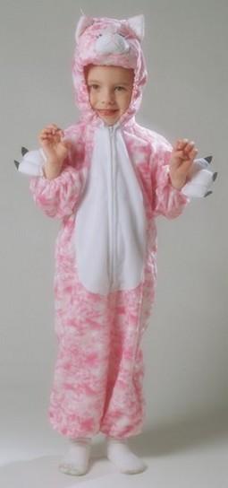 Toddler Plush Kitty Costume