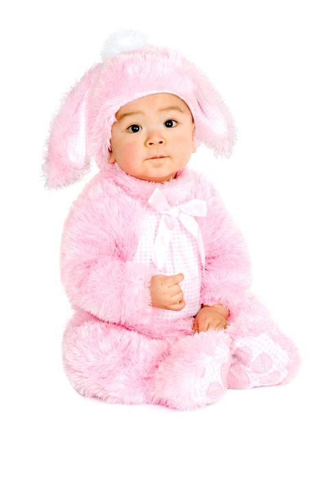 Toddler Plush Little Pink Bunny