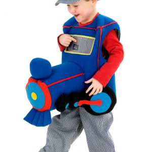 Toddler Plush Ride in Train Costume