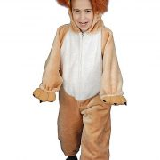 Toddler Plush Roaring Lion Costume