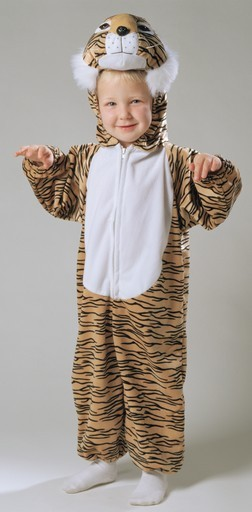Toddler Plush Tiger Costume