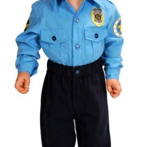Toddler Police Officer Costume