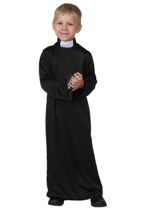Toddler Priest Costume