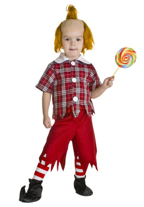 Toddler Red Munchkin Costume