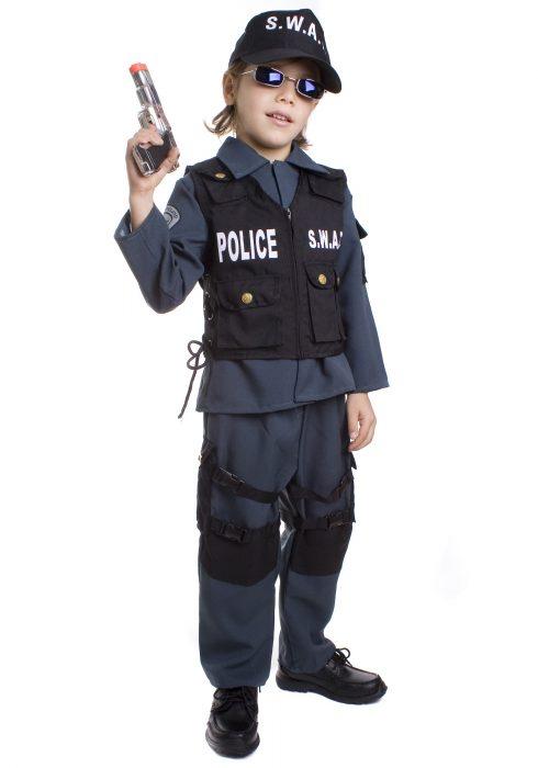 Toddler SWAT Officer Costume