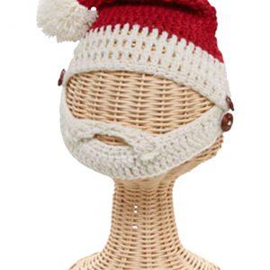 Toddler Santa Beard Hat